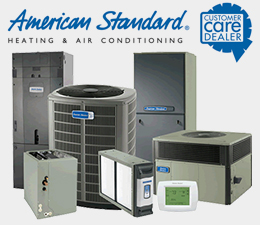 Sub Zero Heating and Cooling uses American Standard Brands