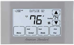 American Standard Thermostat