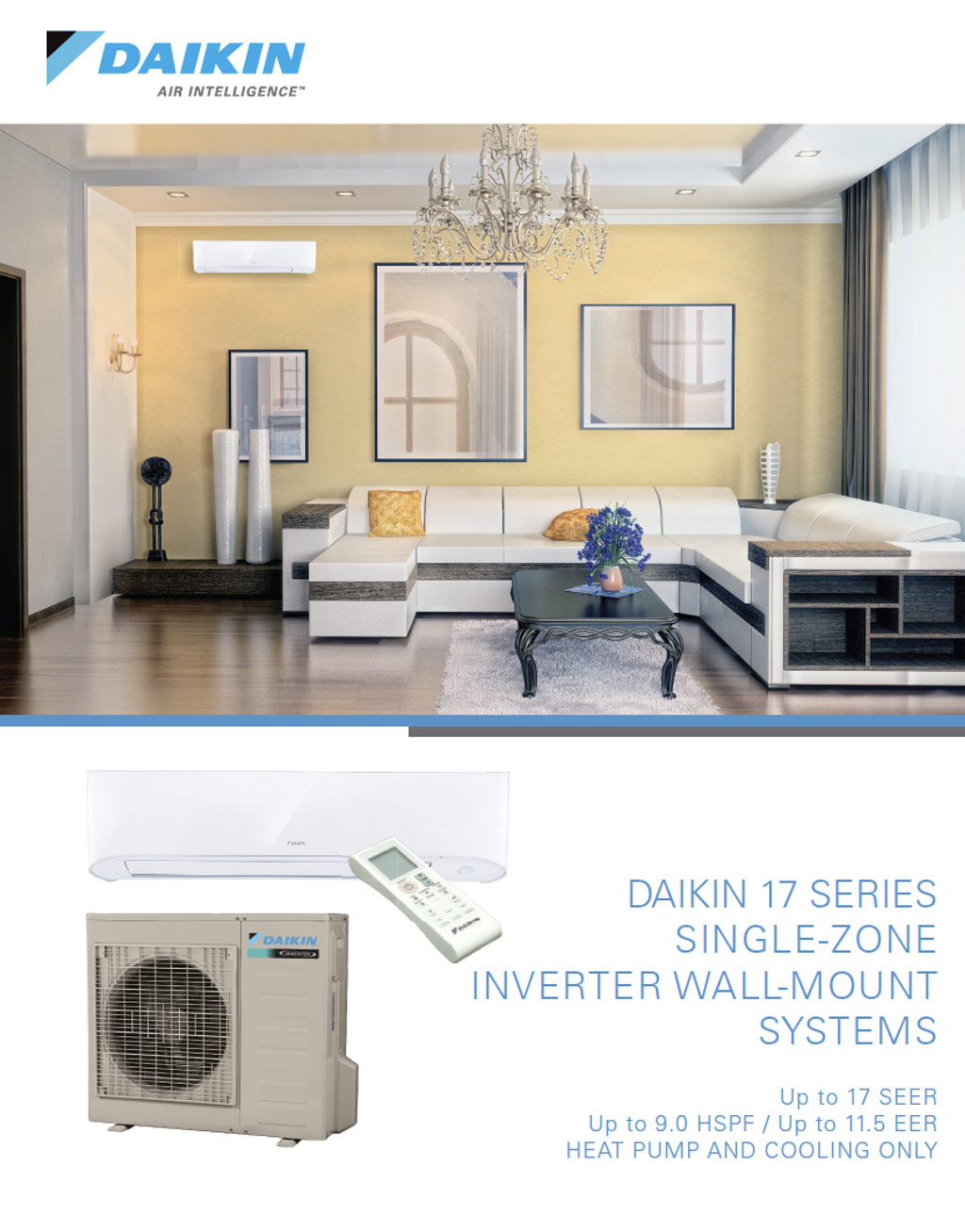 Daikin 17 Series Cover