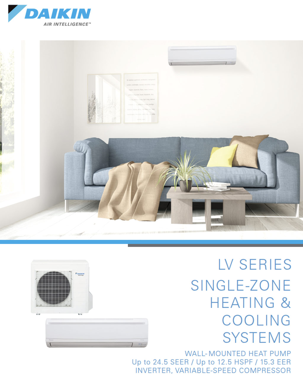 Daikin LV Series Single Zone